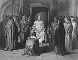 King Richard II knighting the kings of Ireland