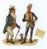 Mr Pickwick and Dick Swiveller, Charles Dickens, Pickwick Papers