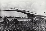 Tupolev Tu-144, Soviet supersonic passenger aircraft, 1960s