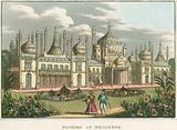 General view of the Royal Pavilion in Brighton