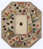 Roundel of playing cards