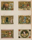 Assorted Victorian Christmas scenes