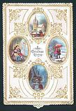 Four Christmas Scenes, Christmas Card