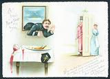 Policeman caught stealing! New Year Card