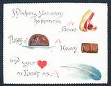 Christmas Fayre, Christmas Card