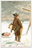 Paddy and his Pigs, 4 Miles to Cork, Christmas Card