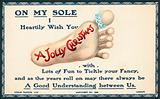 Sole of Foot, Christmas Card