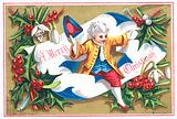 Regency Gentleman, Christmas Card