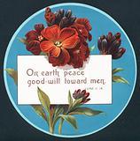 Primroses, Christmas Card