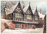 Stanley Palace, Chester, Christmas Card