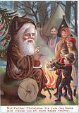 Old Father Christmas, Christmas Card