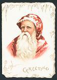 Father Christmas, Christmas Card