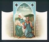 Nativity Scene, Christmas Card