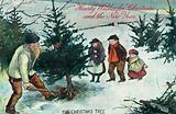 Uprooting the Christmas Tree, Christmas Card