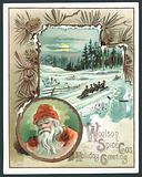 Woolson Spice Company Christmas card