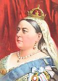 Queen Victoria – greetings card