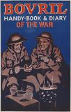 Cover of the Bovril Handy book and diary of the war