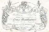 Trade card, William Stubbs
