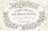 Trade card, Woollen Warehouse