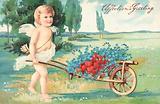 British Valentine card
