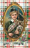 British New Year's card