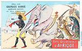 West Coast of Africa, Chapeaux Barrie postcard