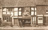 The house of William Shakespeare before restoration