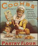 Advertisement for Coombs Pastry Flour