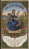 Label for the thread of the spinner