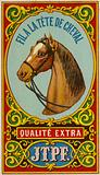 Label for horse head thread