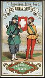 Label for Swiss Army thread