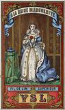 Label for Queen Marguerite thread