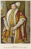 King Edward VI of England and Ireland