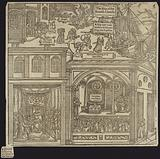 Woodcut from Foxe's Book of Martyrs