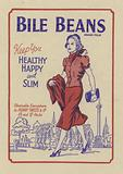Advertisement for Bile Beans