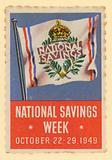 National Savings Week, October 22–29 1949