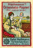 Heitmann's Orientala paper for Easter eggs