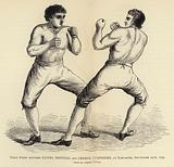 Third Fight between Daniel Mendoza and George Humphries, at Doncaster, 29 September 1790, From an original Picture