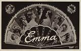 EMMA, with surreal lettering