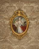 Portrait of Princess Wilhelmine of Prussia at the age of 6
