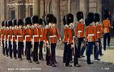 Coldstream Guards. Bank of England picket.