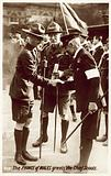 The Prince of Wales greets the Chief Scouts