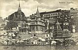 Hindi temples at Varanasi