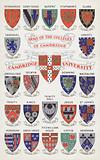 Arms of the Cambridge University Colleges
