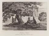 Lochleven Castle, Scotland, the prison of Mary, Queen of Scots in 1567–1568