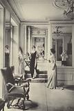 The salons of Worth fashion house, Paris