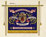 """""""Beautiful Banners"""" as supplied by the Sunday School Union"""