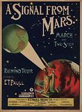 A signal from Mars