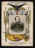 Tsar Alexander II of Russia, cover of La Vie pour le Czar, a quadrille by Charles Coote