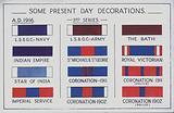 British decorations,1916